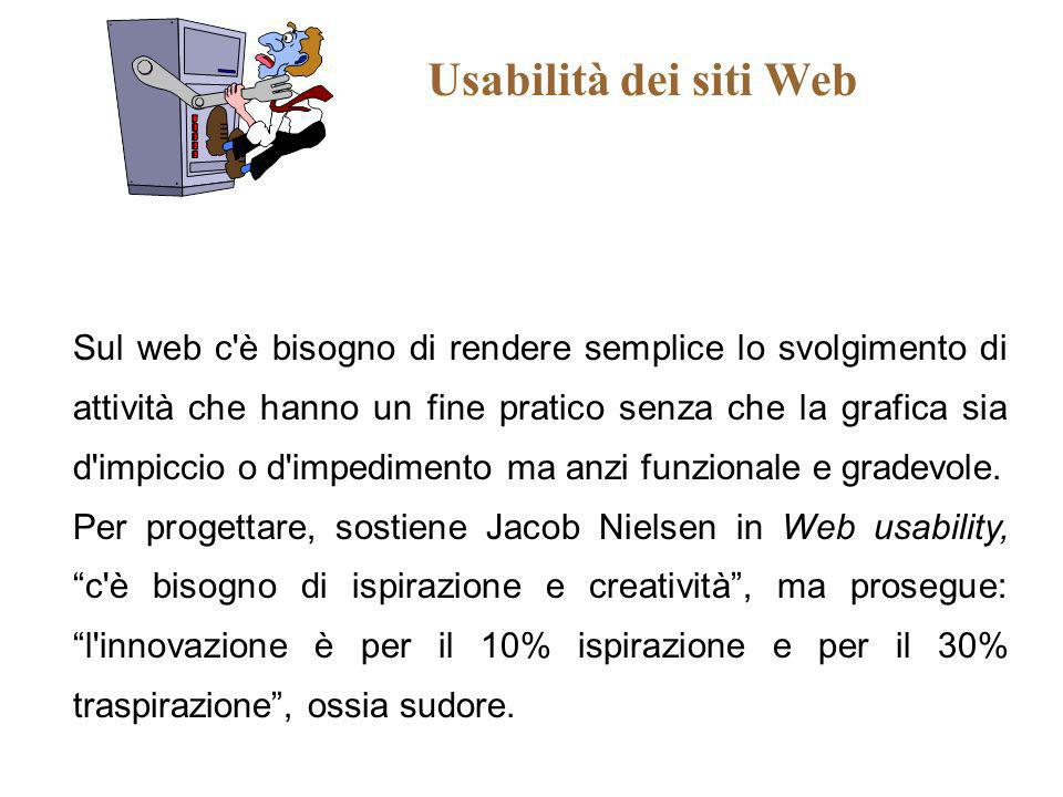 Usabilità dei siti Web