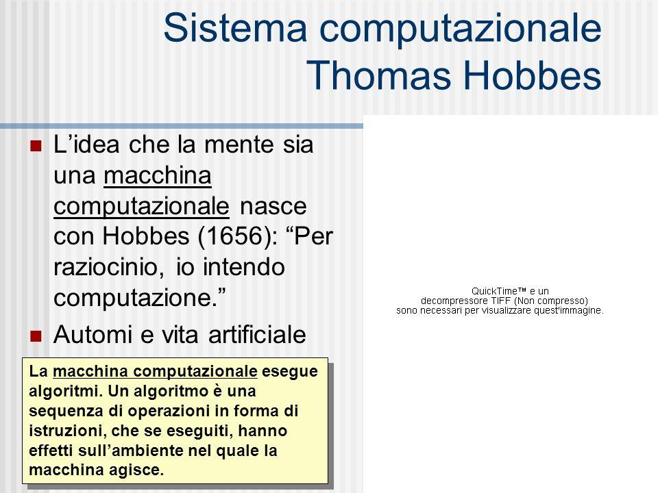 Sistema computazionale Thomas Hobbes