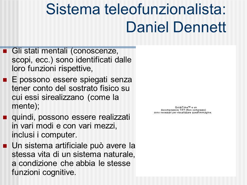 Sistema teleofunzionalista: Daniel Dennett