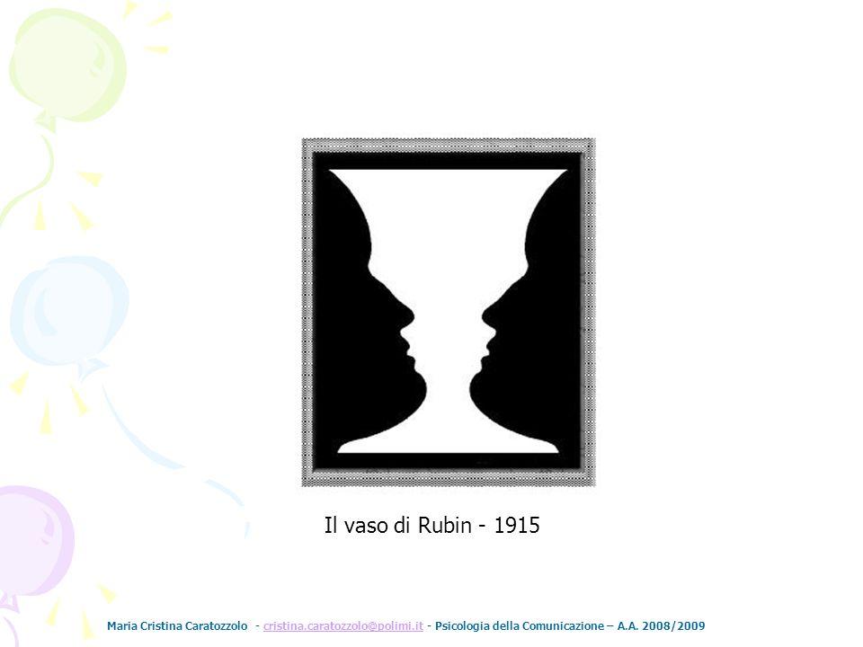 Il vaso di Rubin - 1915