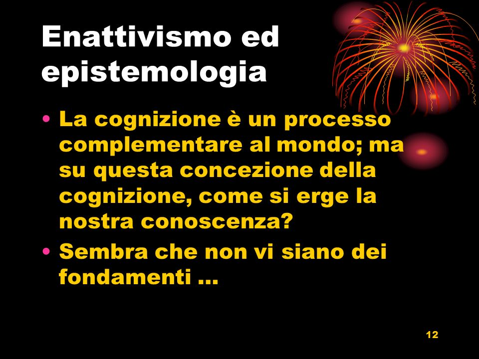 Enattivismo ed epistemologia