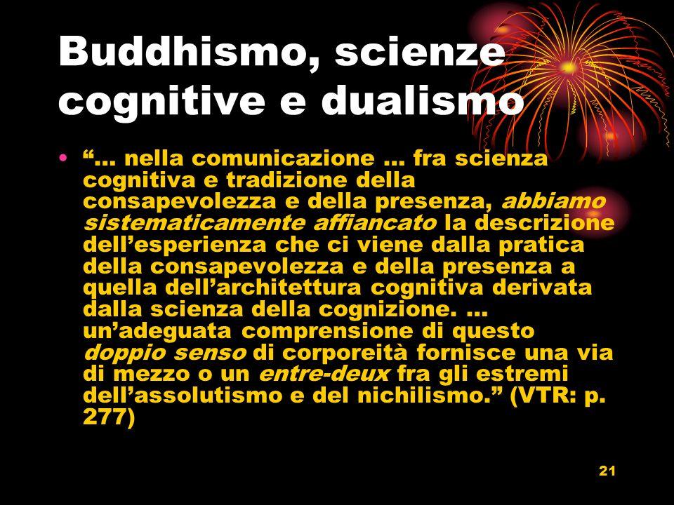 Buddhismo, scienze cognitive e dualismo