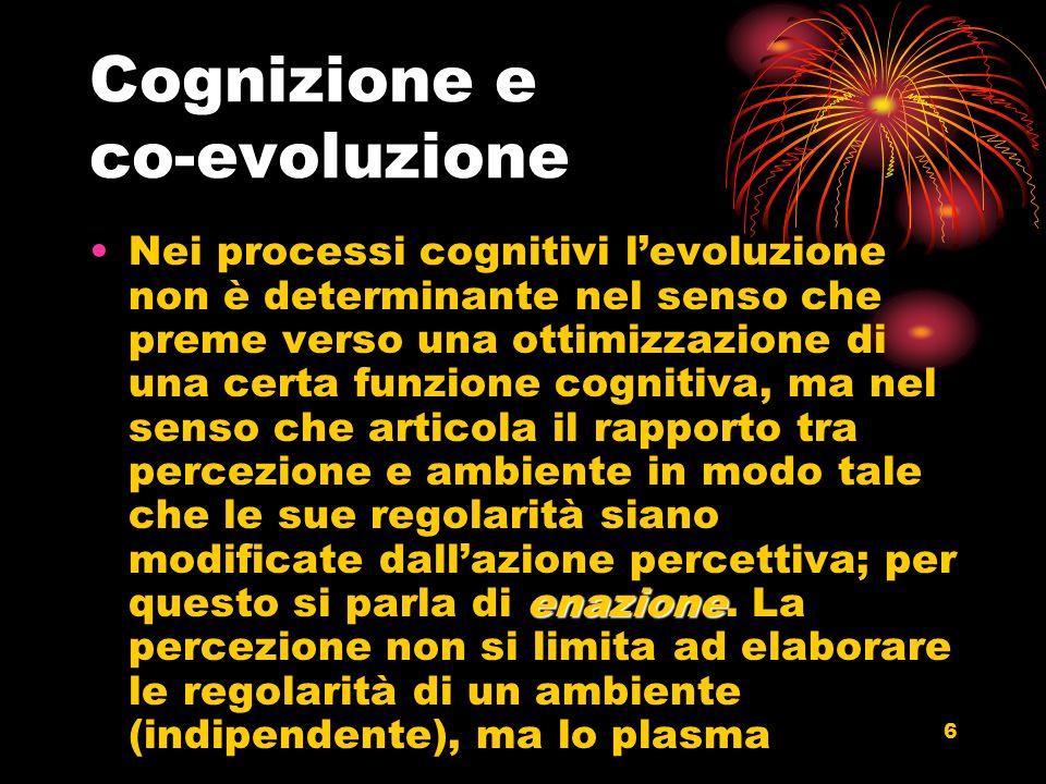 Cognizione e co-evoluzione