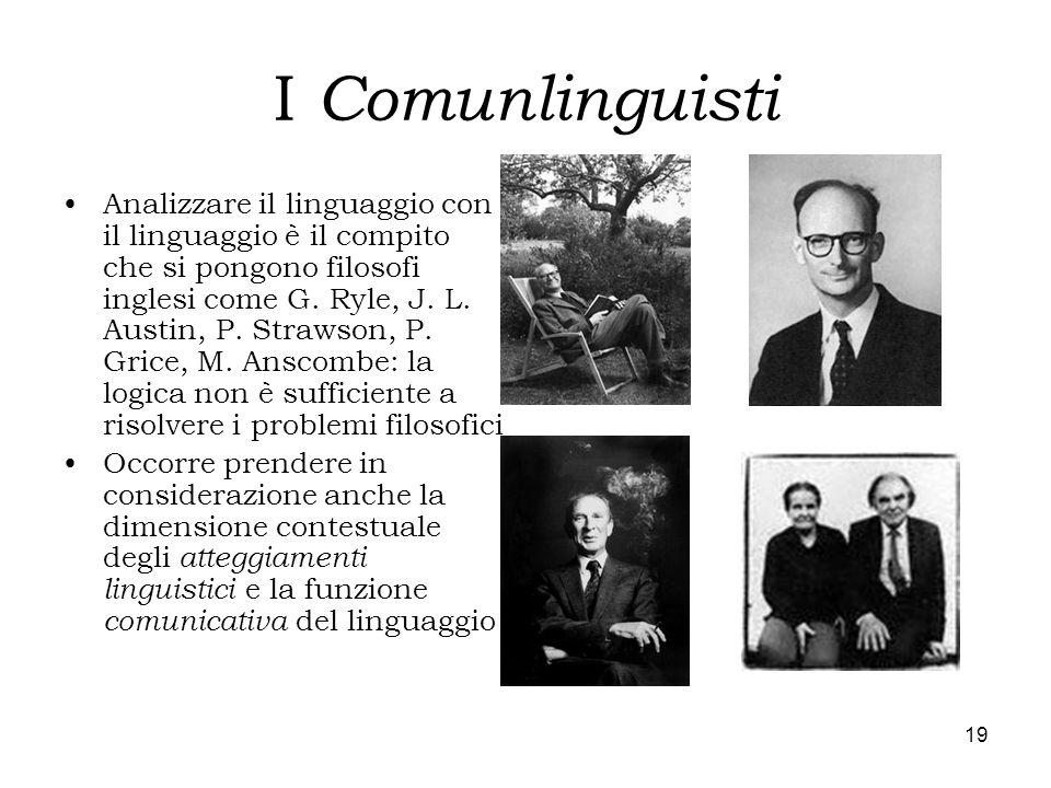 I Comunlinguisti