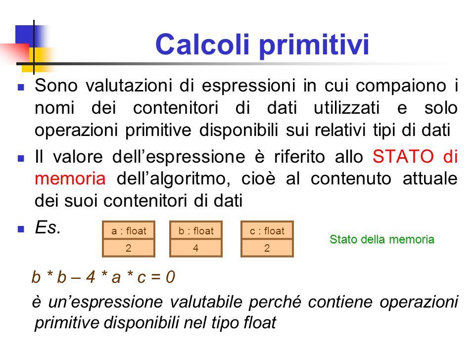 Calcoli primitivi