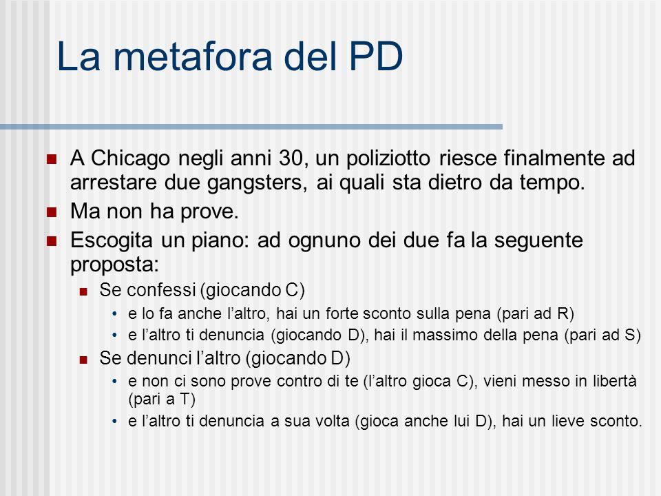 La metafora del PD A Chicago negli anni 30, un poliziotto riesce finalmente ad arrestare due gangsters, ai quali sta dietro da tempo.