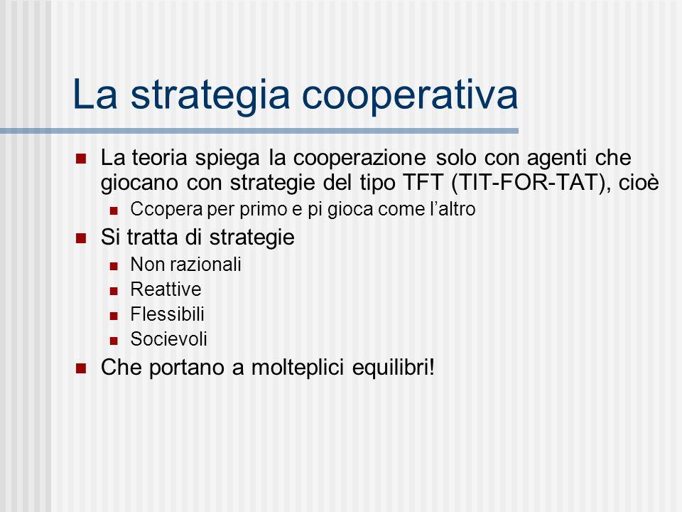 La strategia cooperativa