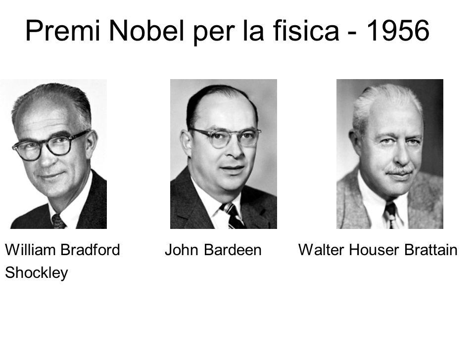 Premi Nobel per la fisica - 1956