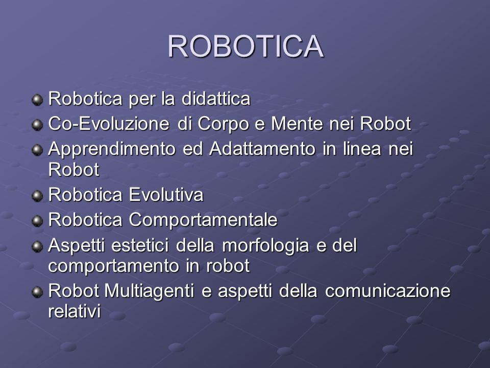 ROBOTICA Robotica per la didattica