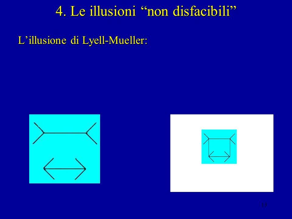 4. Le illusioni non disfacibili