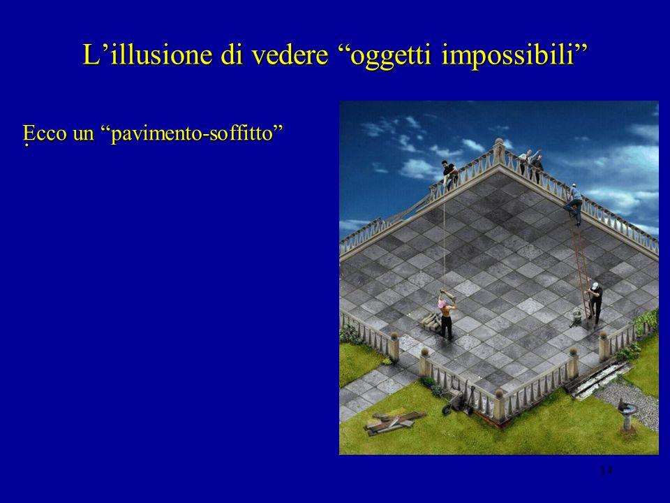 L'illusione di vedere oggetti impossibili