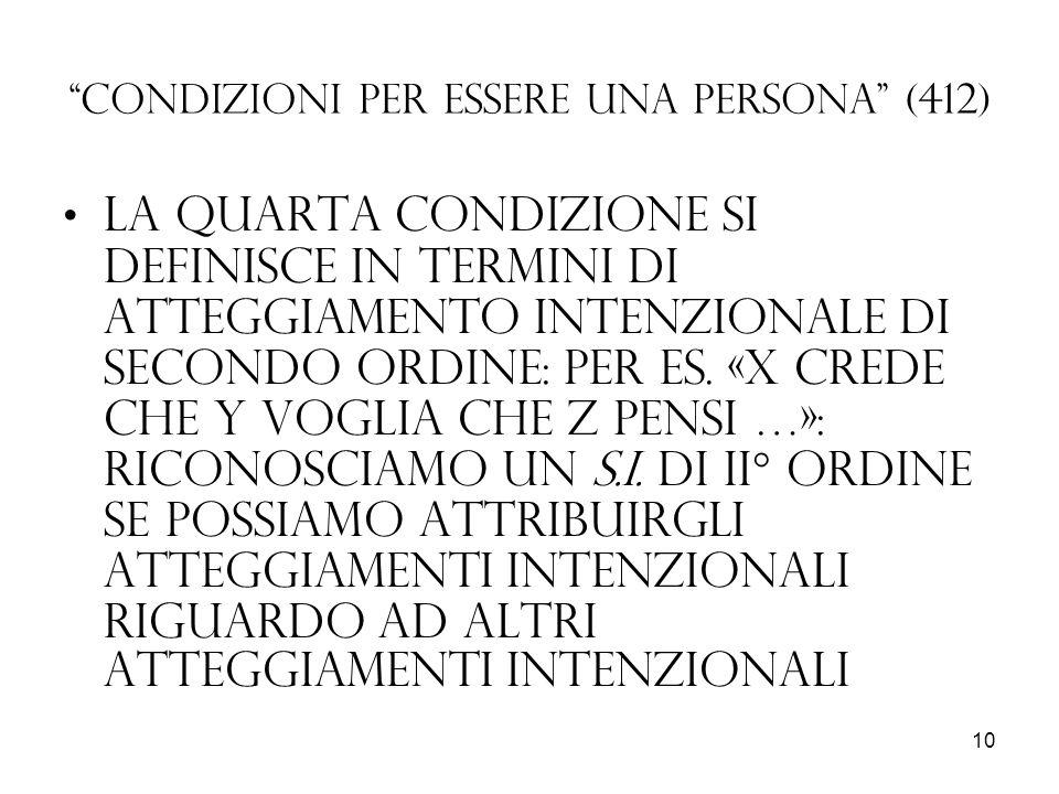 Condizioni per essere una persona (412)