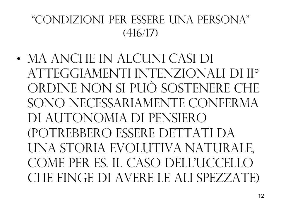 Condizioni per essere una persona (416/17)