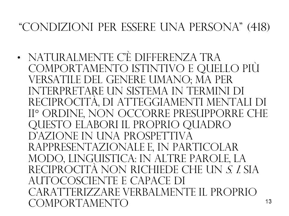 Condizioni per essere una persona (418)