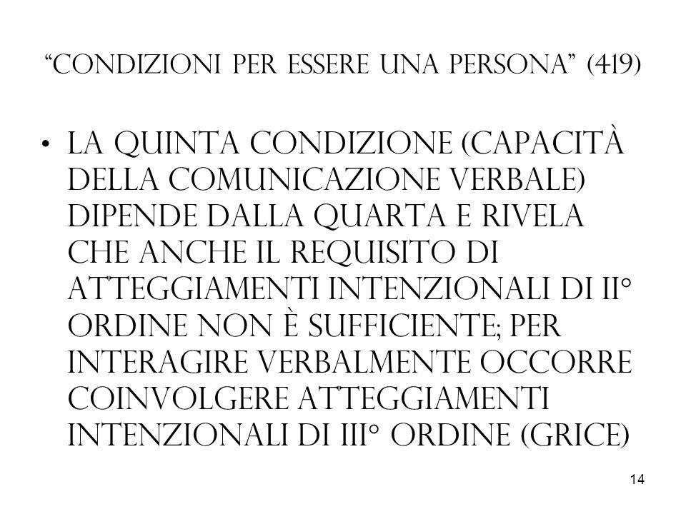 Condizioni per essere una persona (419)