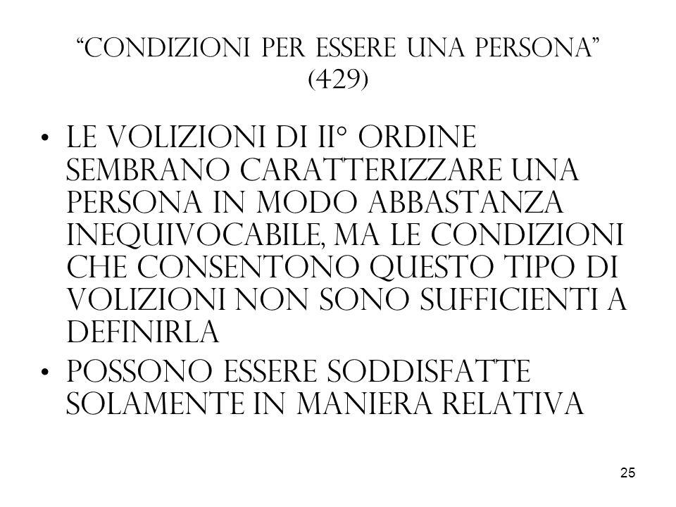 Condizioni per essere una persona (429)