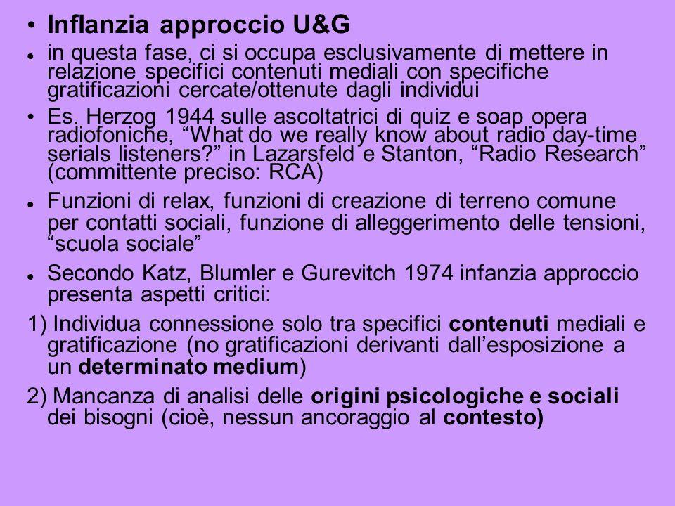 InfIanzia approccio U&G
