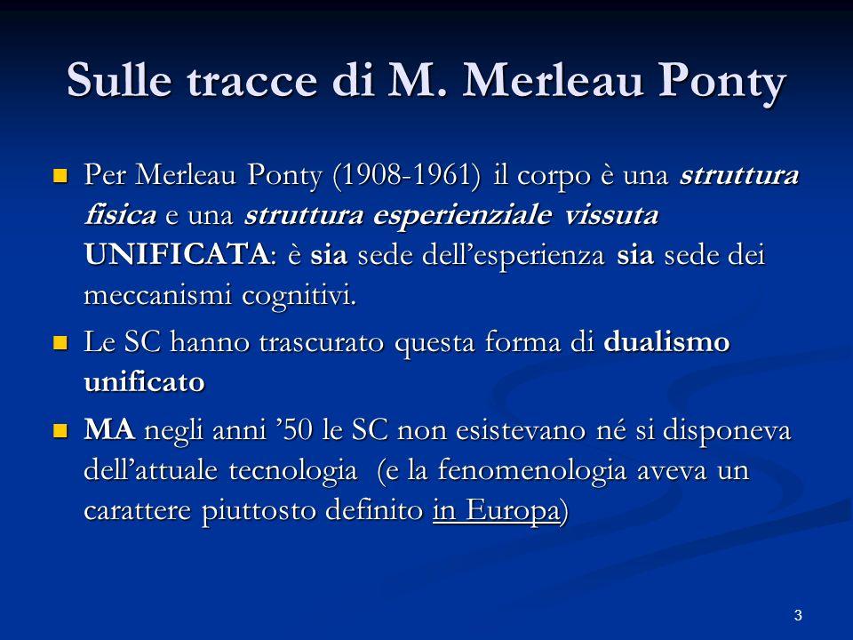 Sulle tracce di M. Merleau Ponty