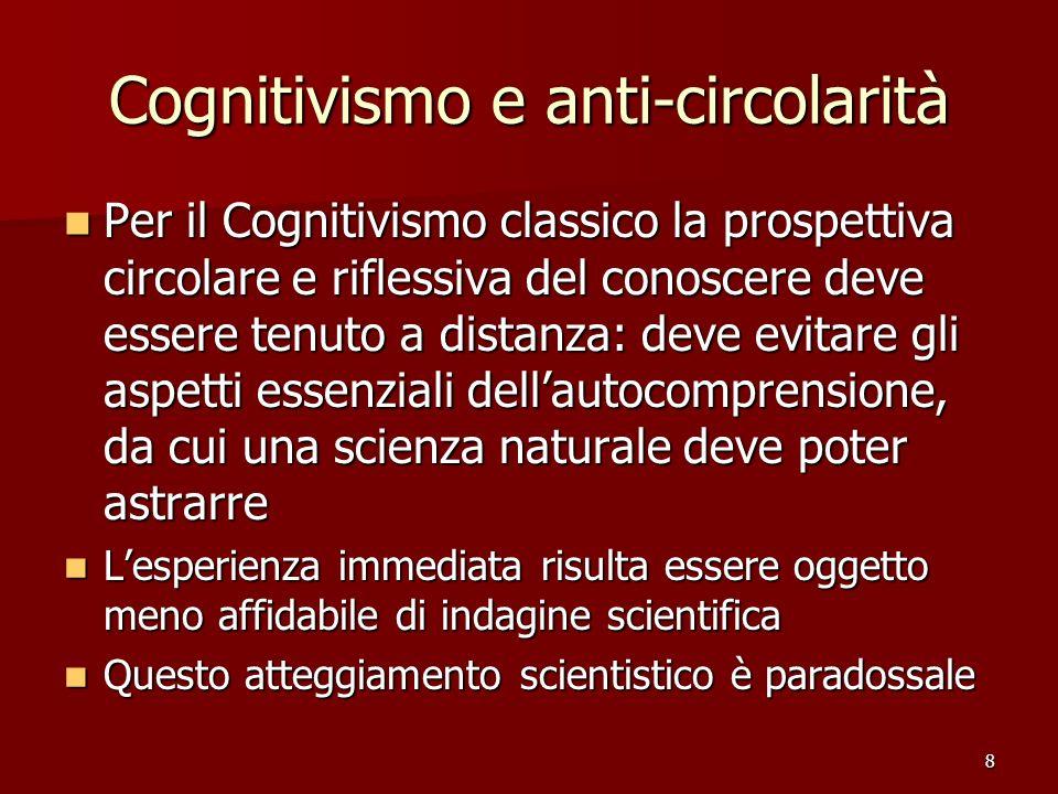 Cognitivismo e anti-circolarità