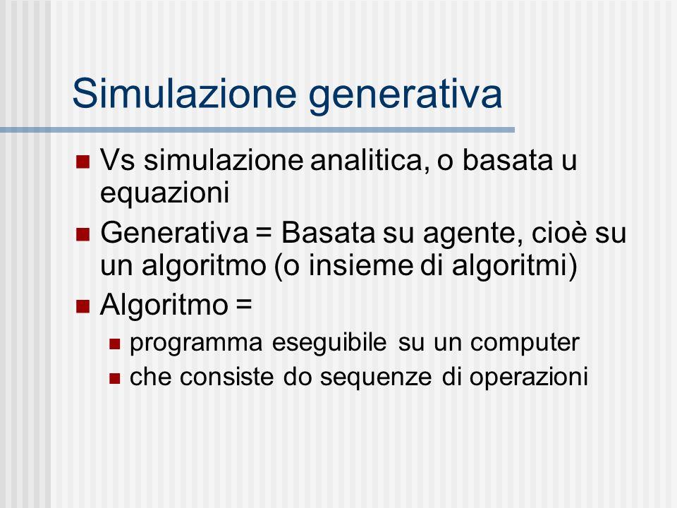 Simulazione generativa