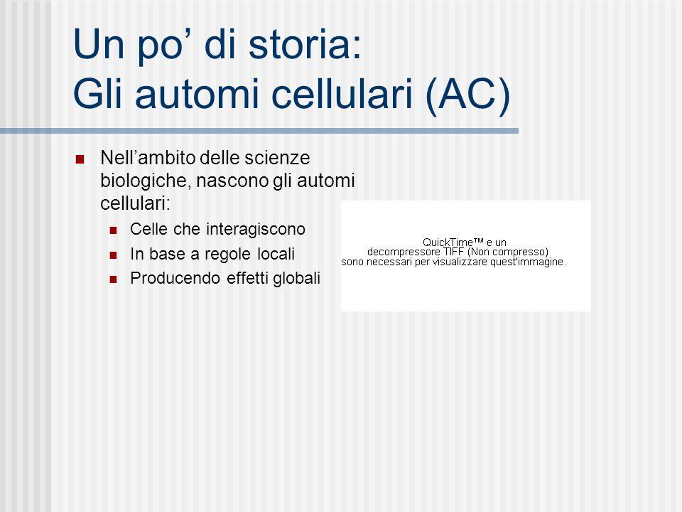 Un po' di storia: Gli automi cellulari (AC)