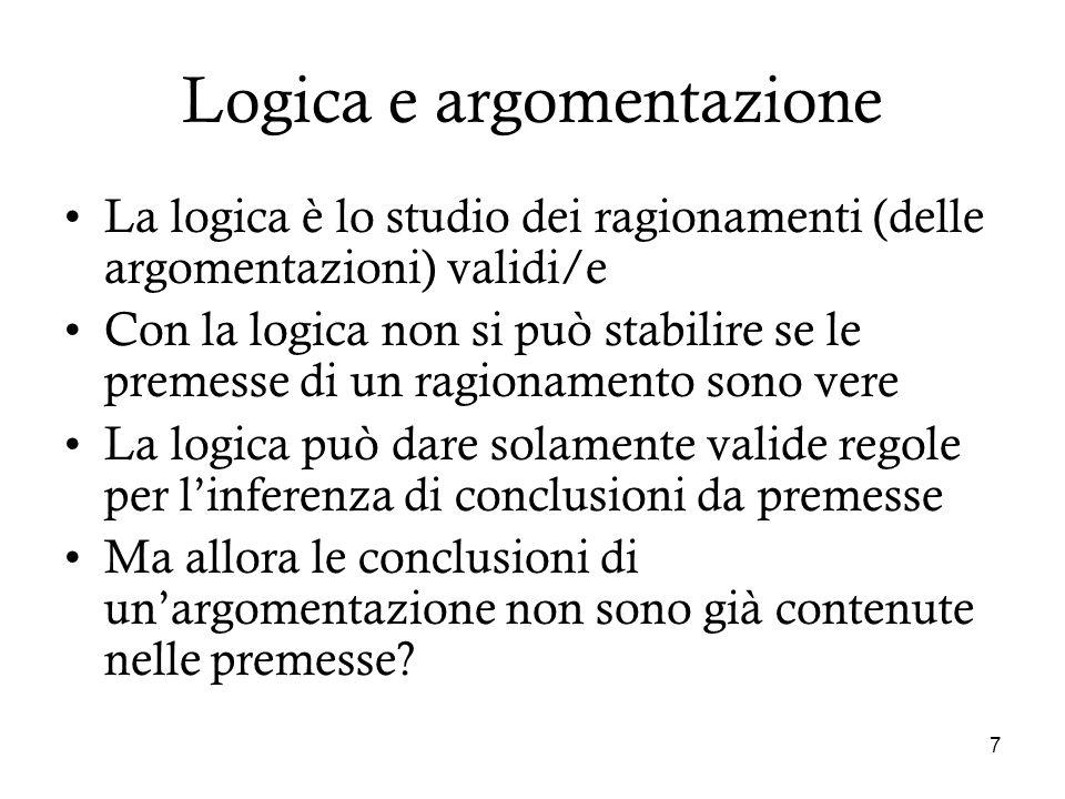 Logica e argomentazione