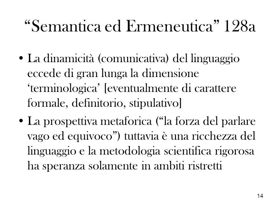 Semantica ed Ermeneutica 128a