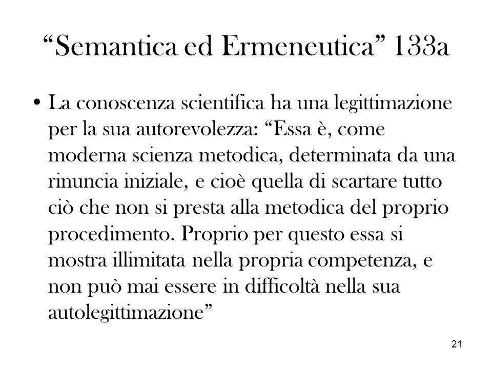Semantica ed Ermeneutica 133a