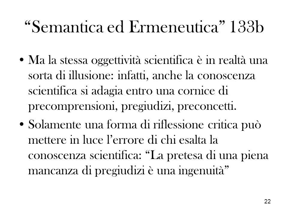 Semantica ed Ermeneutica 133b