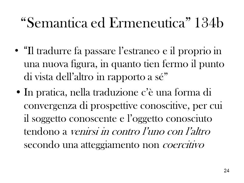 Semantica ed Ermeneutica 134b