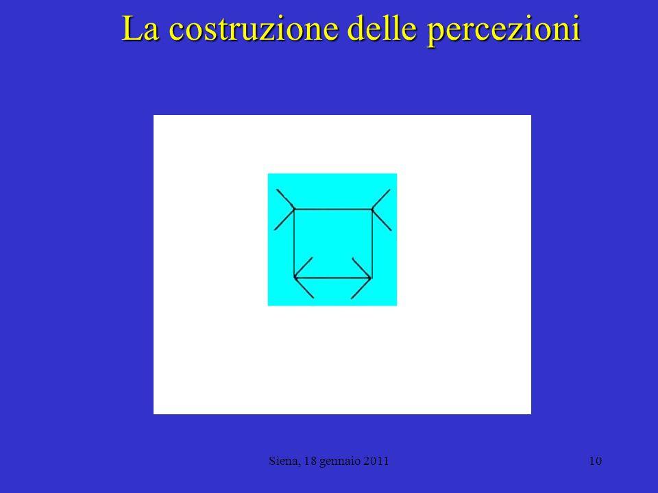 La costruzione delle percezioni