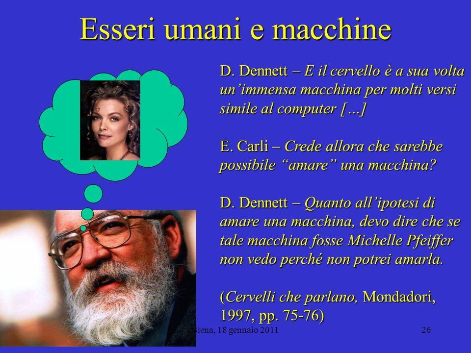 Esseri umani e macchine