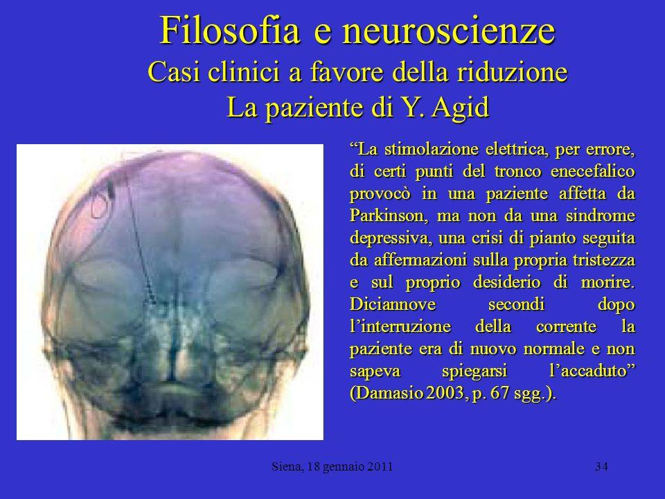Filosofia e neuroscienze