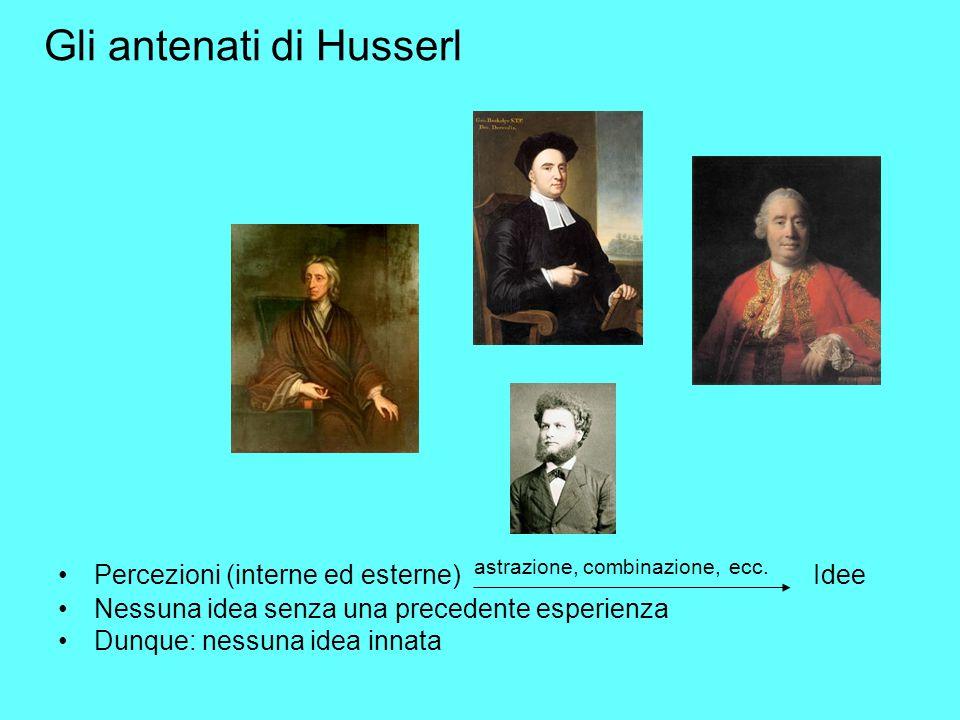 Gli antenati di Husserl