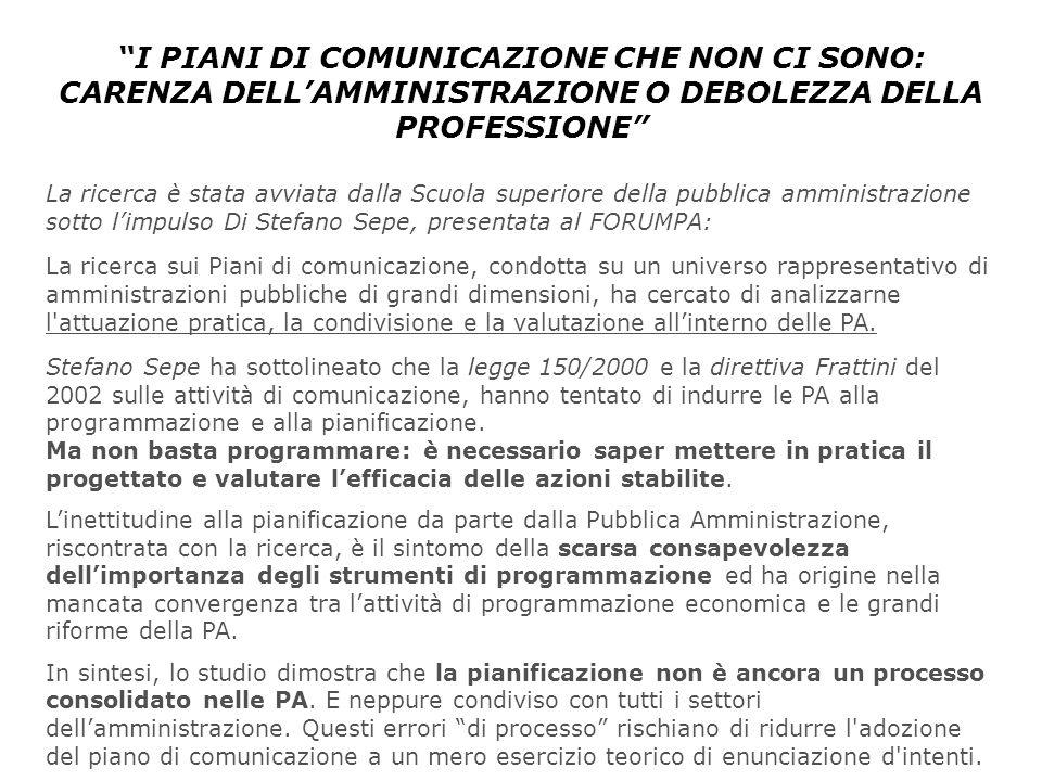 Perche e come si realizza un piano di comunicazione ppt for Piani di aggiunta di suite in legge