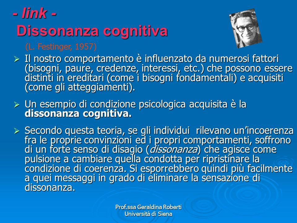 - link - Dissonanza cognitiva