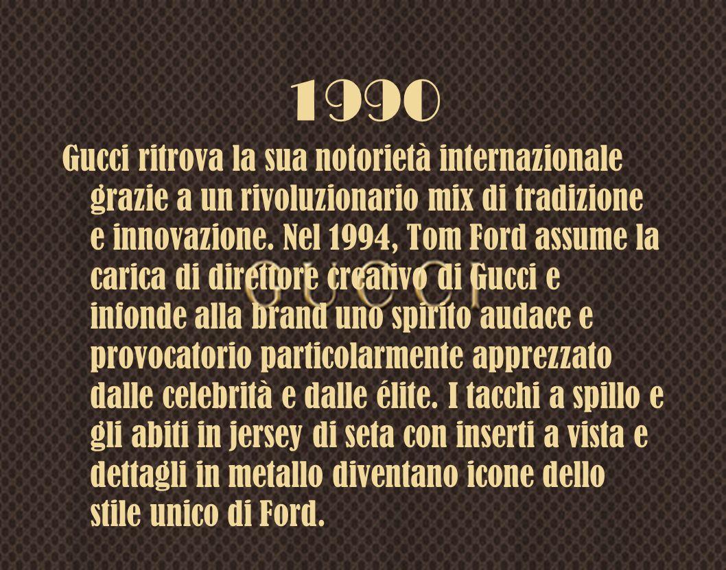 1960 Gucci lancia prodotti amatissimi dalle