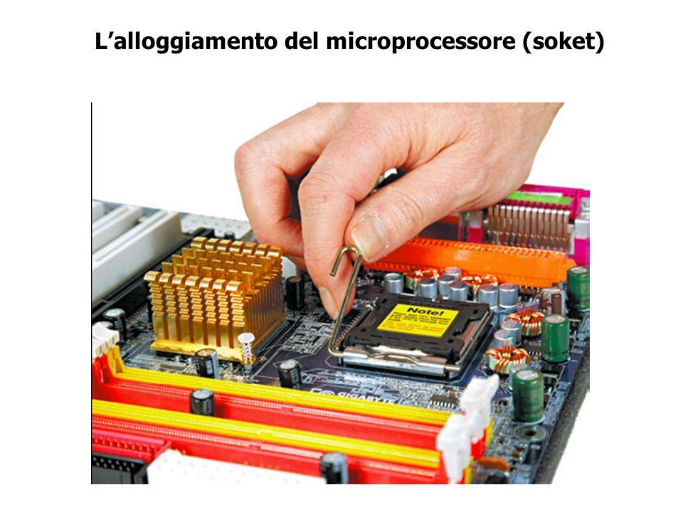 L'alloggiamento del microprocessore (soket)