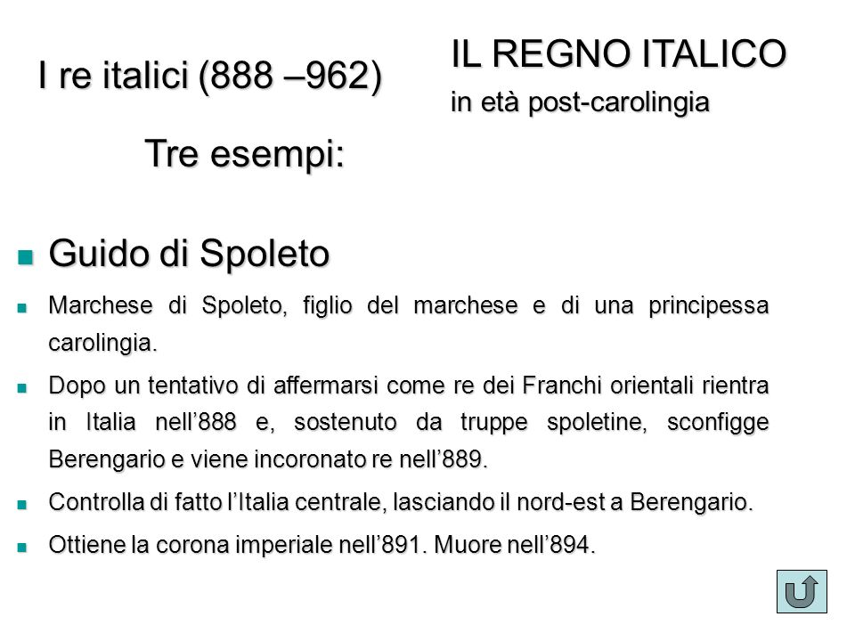 I re italici Guido di Spoleto