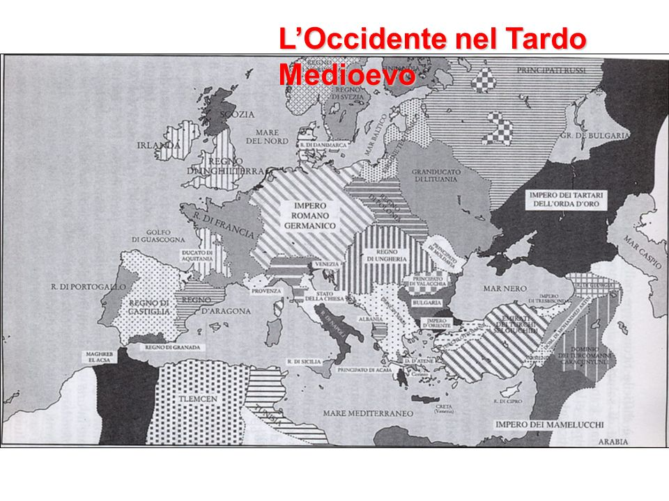 L'Occidente nel Tardo Medioevo