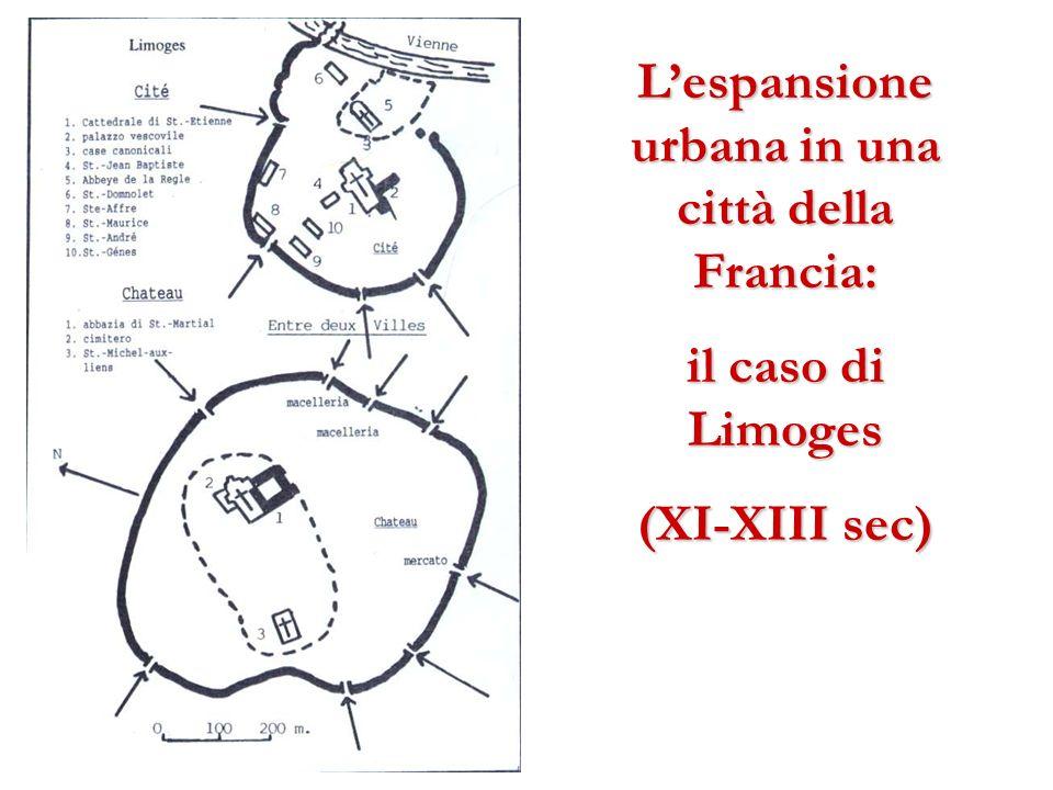 L'espansione urbana in una città della Francia: