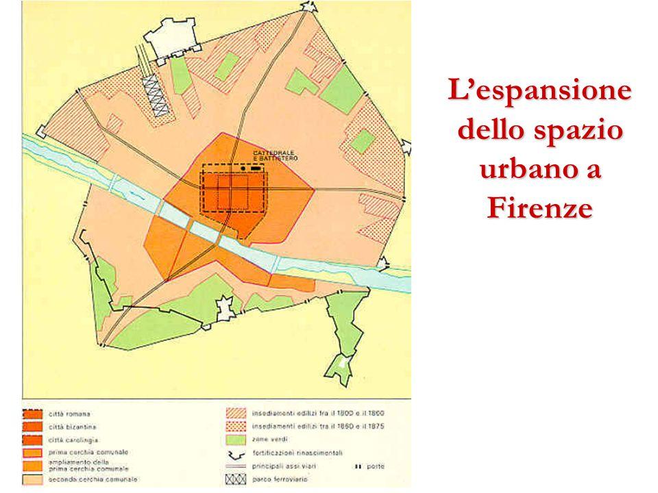 L'espansione dello spazio urbano a Firenze