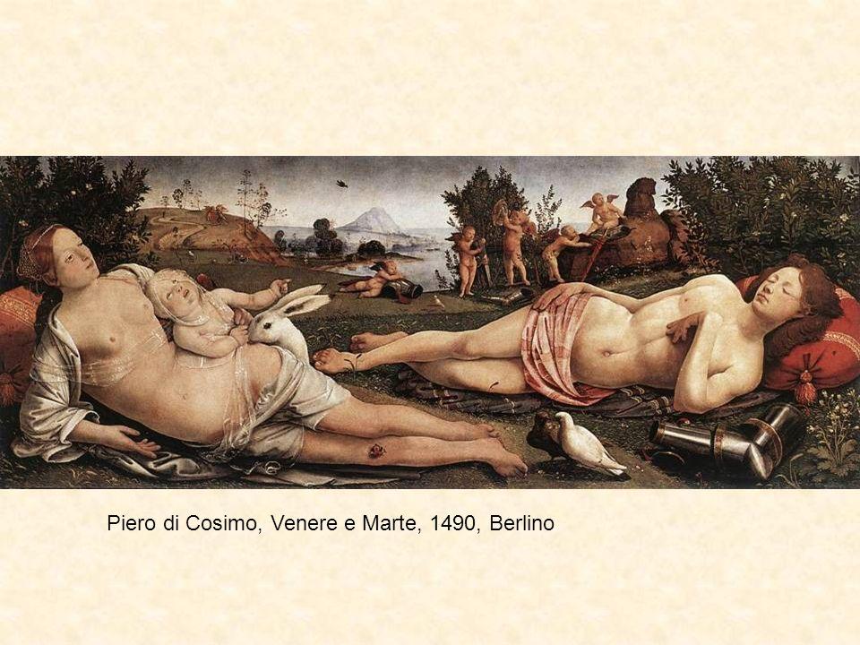 Piero di Cosimo, Venere e Marte, 1490, Berlino