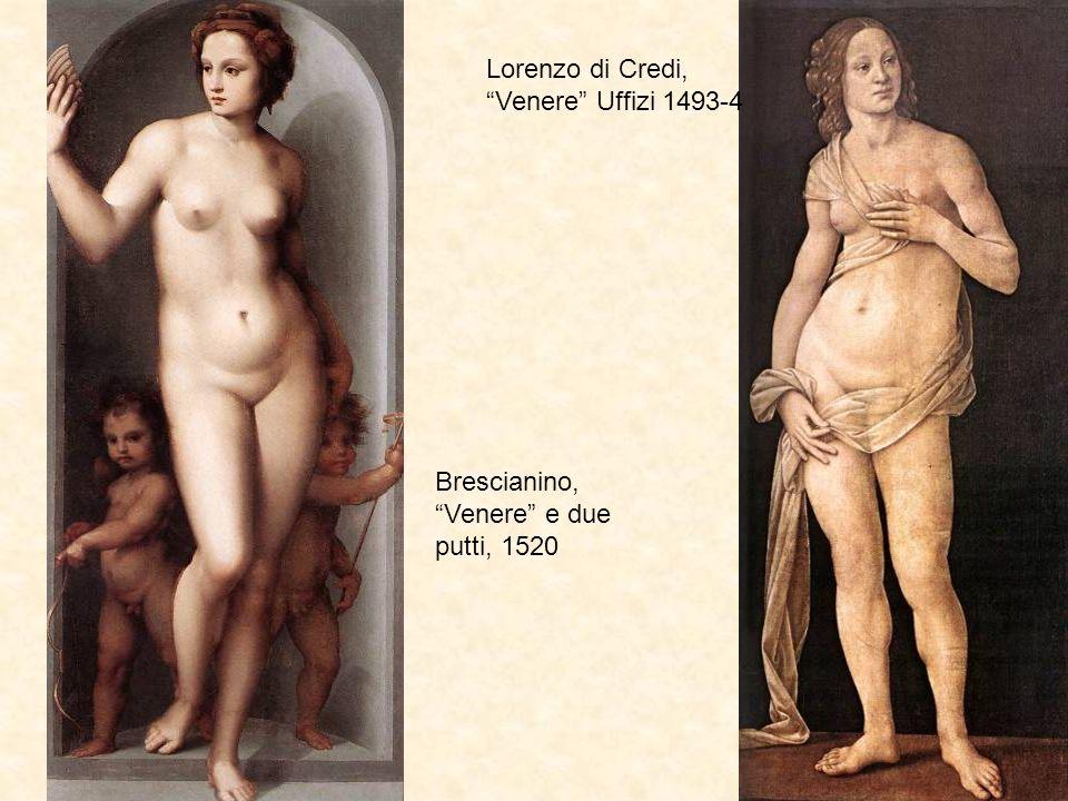 Lorenzo di Credi, Venere Uffizi 1493-4