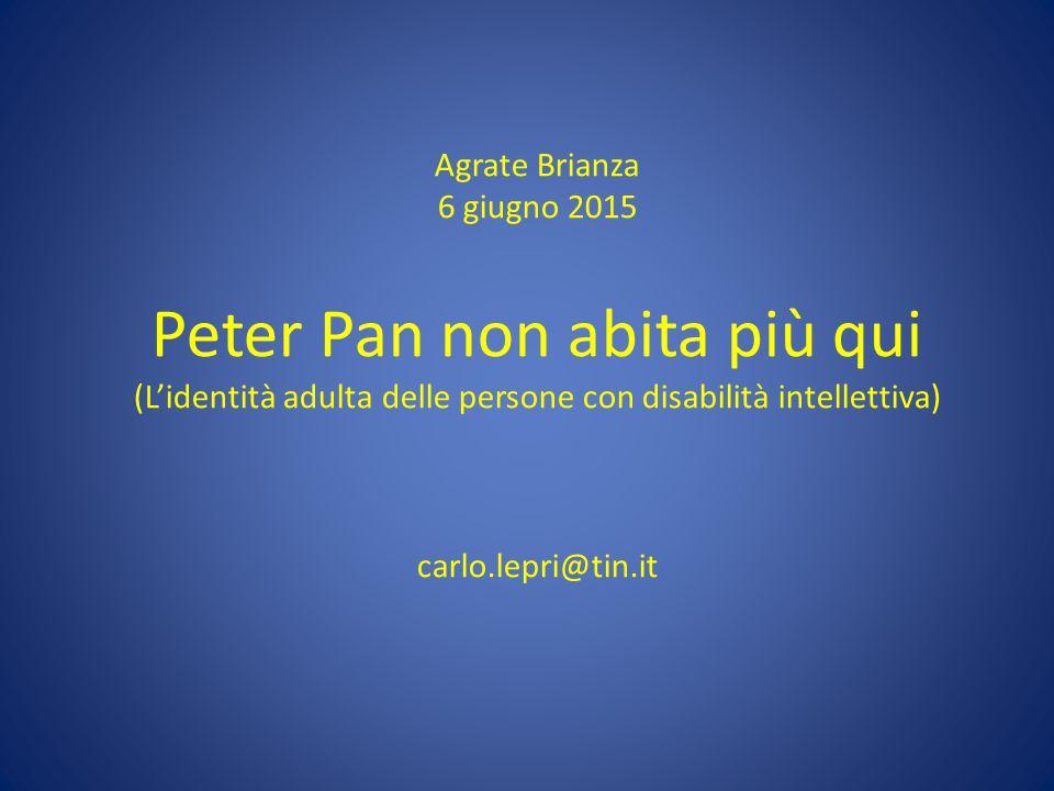 Peter Pan non abita più qui