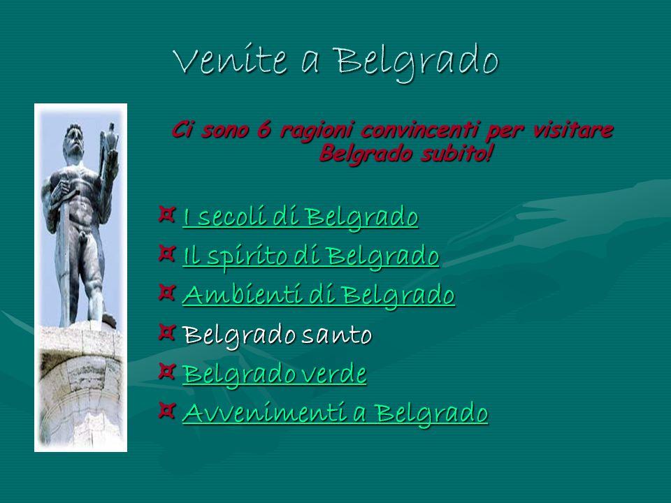 Ci sono 6 ragioni convincenti per visitare Belgrado subito!
