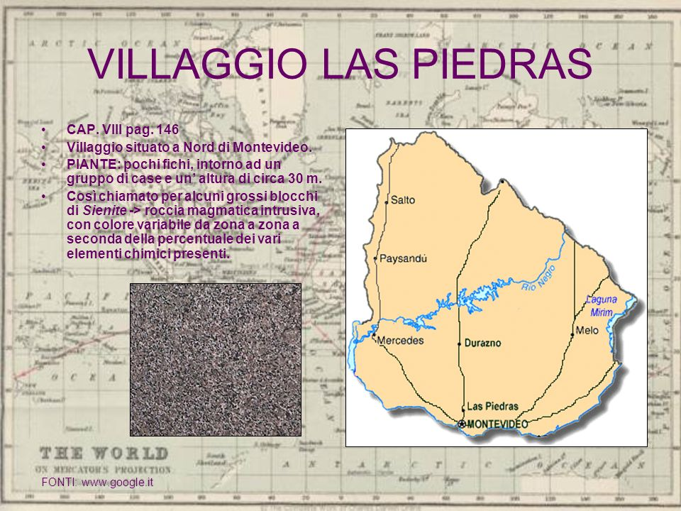 VILLAGGIO LAS PIEDRAS CAP. VIII pag. 146