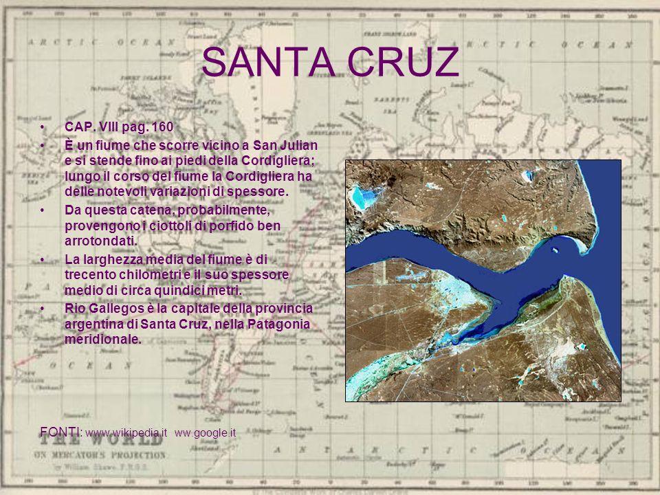 SANTA CRUZ CAP. VIII pag. 160.