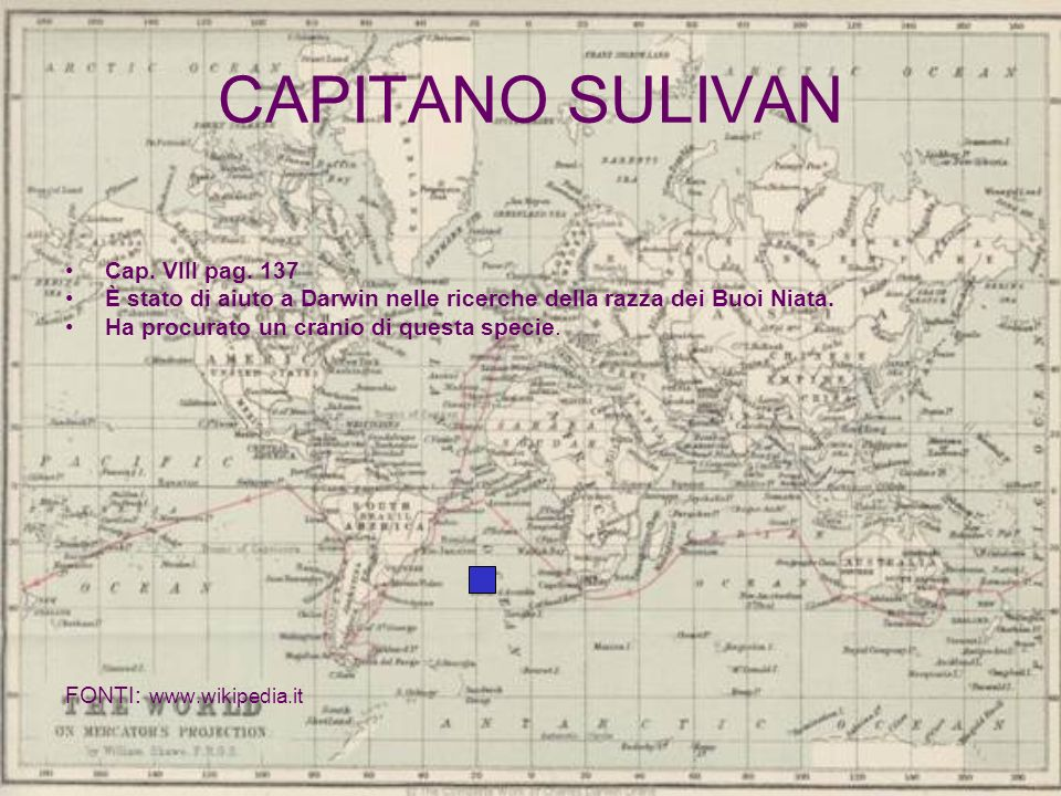 CAPITANO SULIVAN Cap. VIII pag. 137