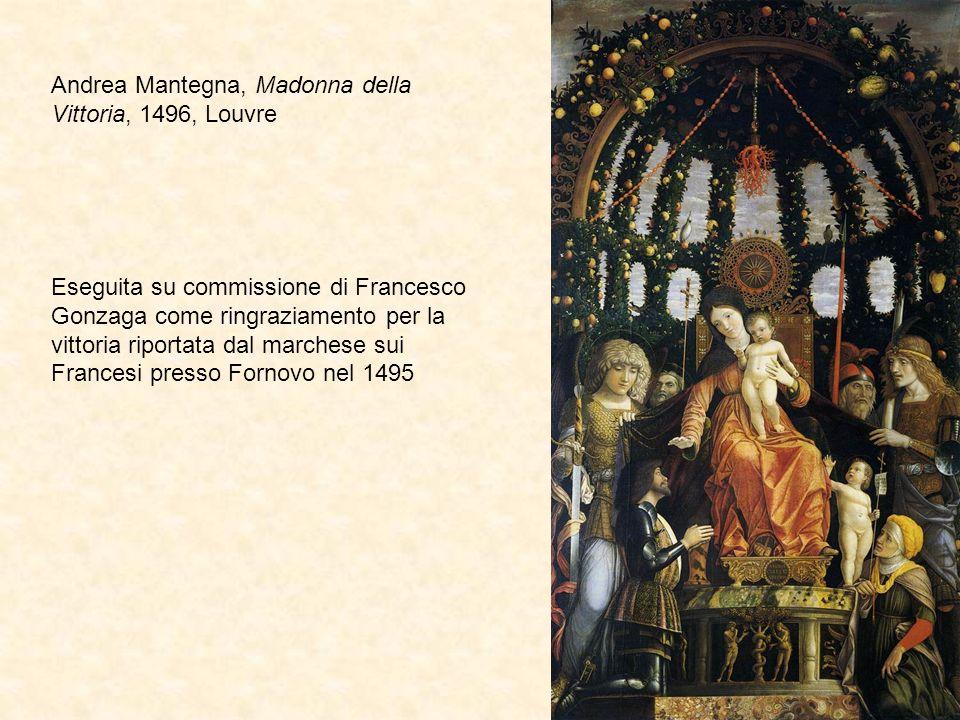 Andrea Mantegna, Madonna della Vittoria, 1496, Louvre
